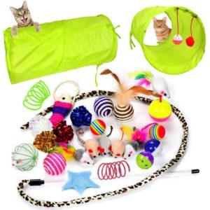 Set de juguetes para gatos